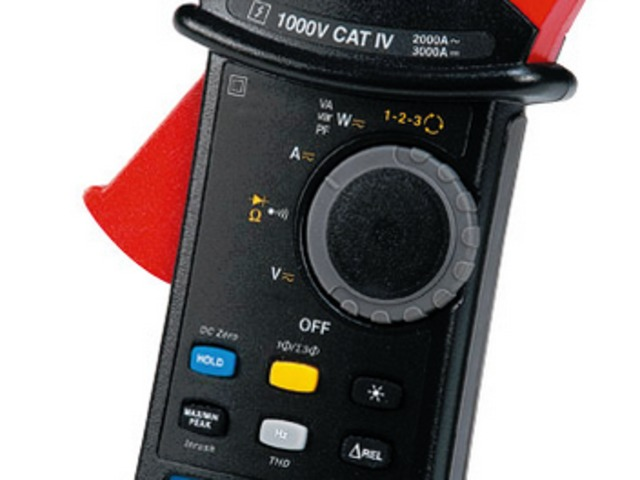11 TRMS Multimeter Clamps with 1,000 V CAT IV Safety!