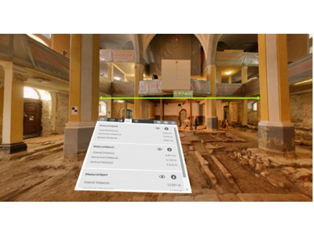 3-D point cloud software tool SCENE for Laser Scanner - FARO
