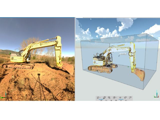 Quote 3-D point cloud software tool SCENE for Laser Scanner