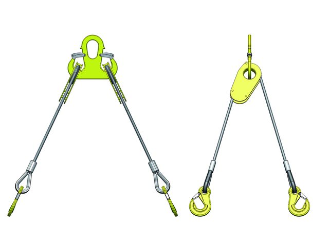 4-leg wire rope sling - Adjustable type | Contact STAS