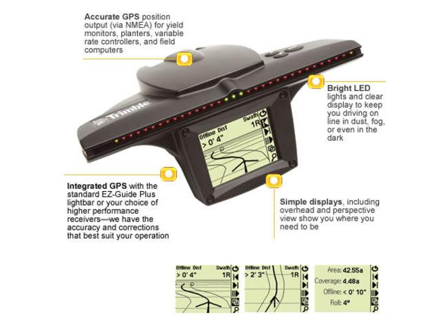 Aggps ez guide plus lightbar guidance system contact trimble aggps ez guide plus lightbar guidance system aloadofball Images