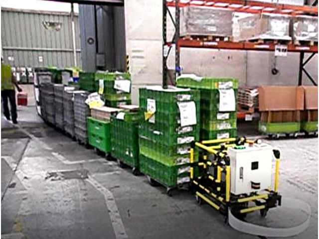 AGV Automated Guided Vehicule - ISITEC International
