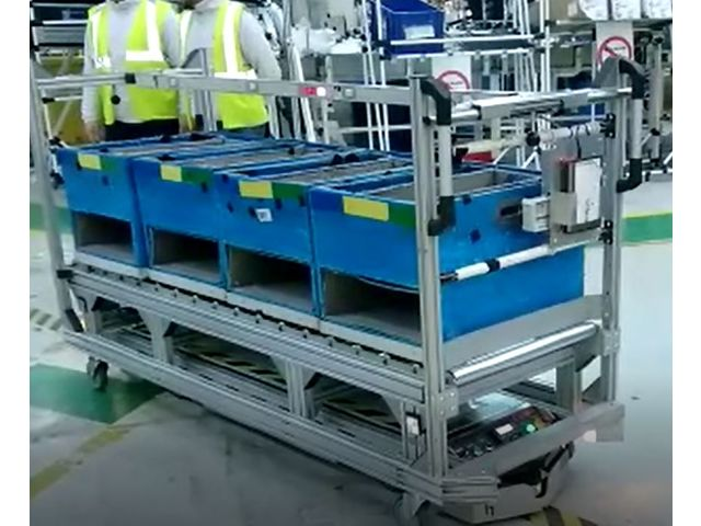 AGV Automated Guided Vehicule - Automatic guided vehicles (AGV)