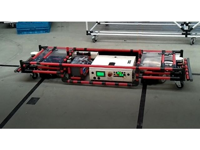AGV Automated Guided Vehicule - product presented by ISITEC International
