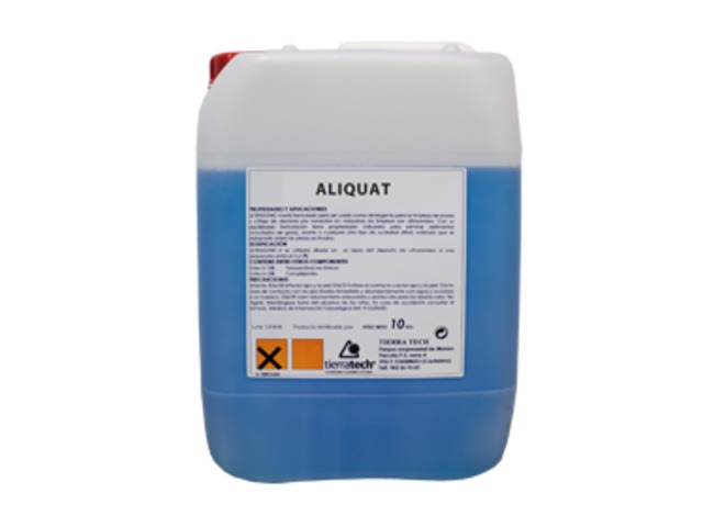 Aliquat - Sanitising acid-based cleaner - TIERRATECH SARL