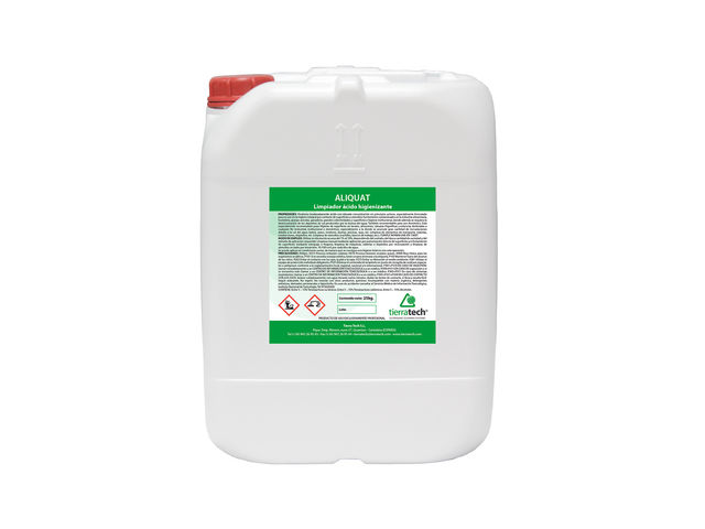 Aliquat - Sanitising acid-based cleaner