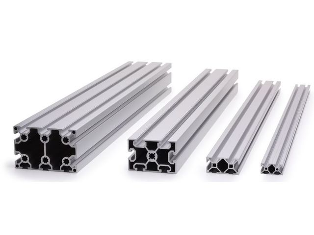Aluminium profile 40x40 10mm slot   Contact SYSTEAL
