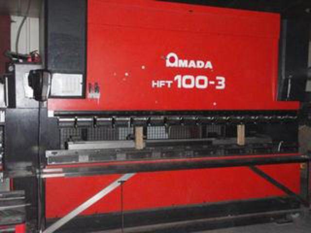 AMADA CNC Press Brake - Type : HFT 100-3