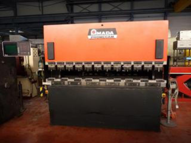 AMADA CNC Press Brake - Type : ITS 80-25