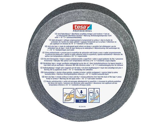 Anti Slip tape - black : tesa® Professional 60950 - product presented by TESA FRANCE