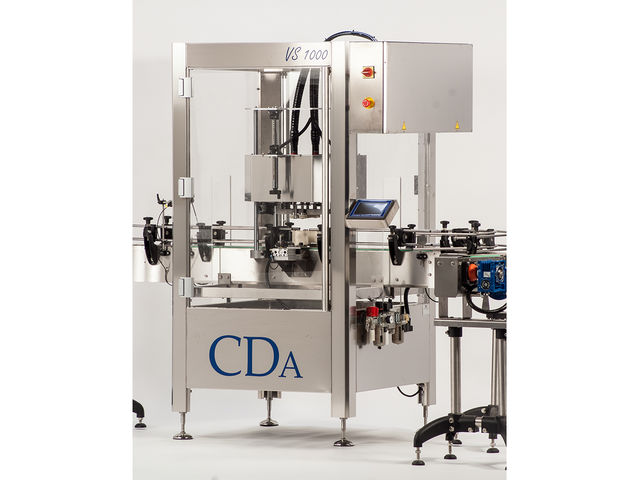 Automatic screwing machine - CDA - VS1000 model - product presented by CDA Étiqueteuses & Remplisseuses
