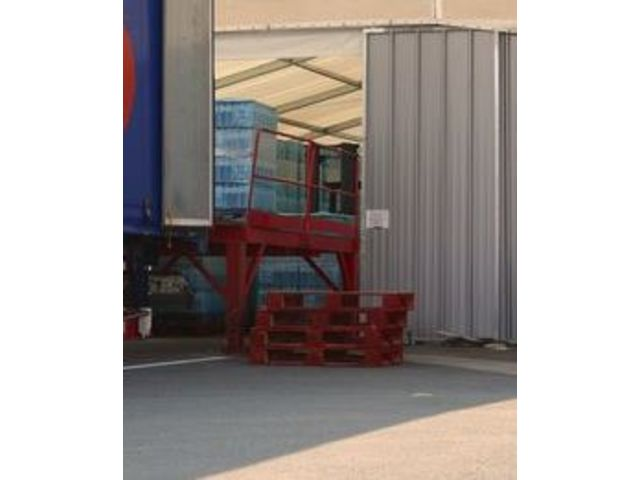 Quote Awning for loading / unloading dock