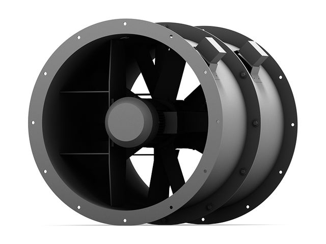 High Pressure Axial Fan : Axial fans high pressure contact elektror airsystems sarl