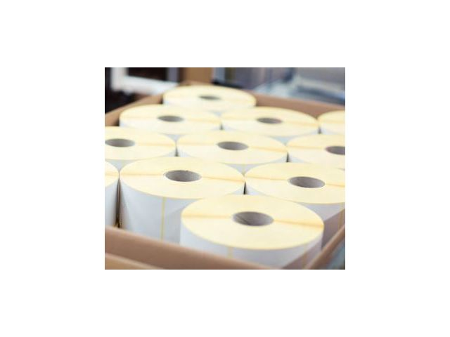 Quote Blank labels - Blank labels on a roll