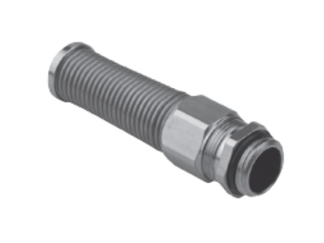 Cable glands nickel-plated brass with antikink spring | Contact SES ...