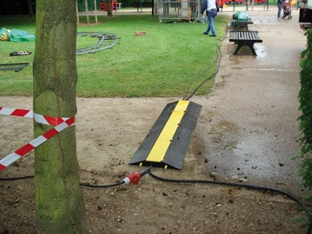Cable guard 50 x 50 PARGOM - Speed ramps