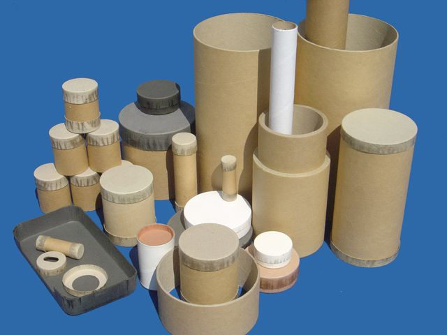 cardboard tube with cardboard stopper | contact gatine