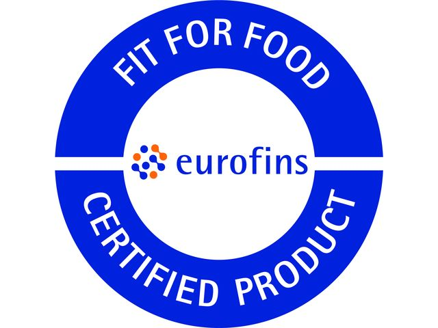 Certified Product - Food Contact Material - Europe