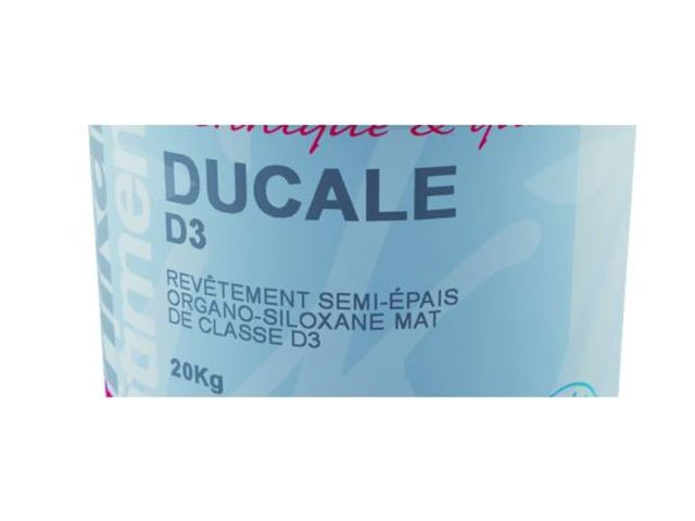 Class D3 semi organic/siloxane medium-thikness coating : DUCALE D3 - Wall coating