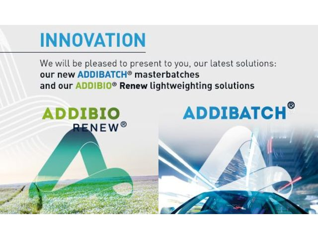 Compounds et masterbatches - ADDIBATCH