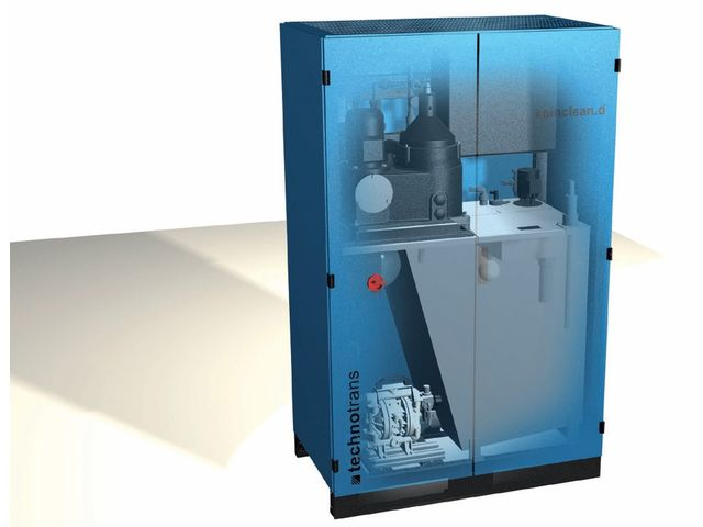 Dampening solution cleaning system : SPINCLEAN.D AUTO