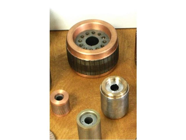 Die cast copper rotors for electrical motors - Non-ferrous metals foundry