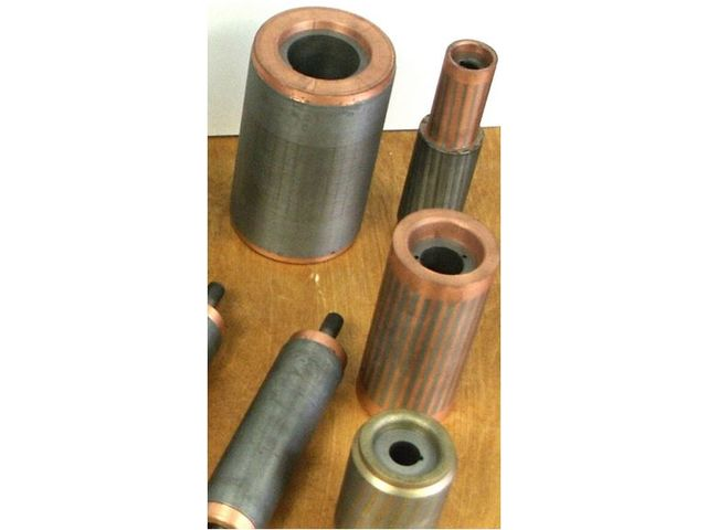 Die cast copper rotors for electrical motors - product presented by FAVI - LE LAITON INJECTE