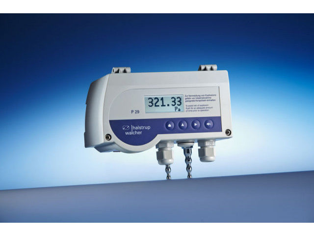Differential pressure transmitter P 29