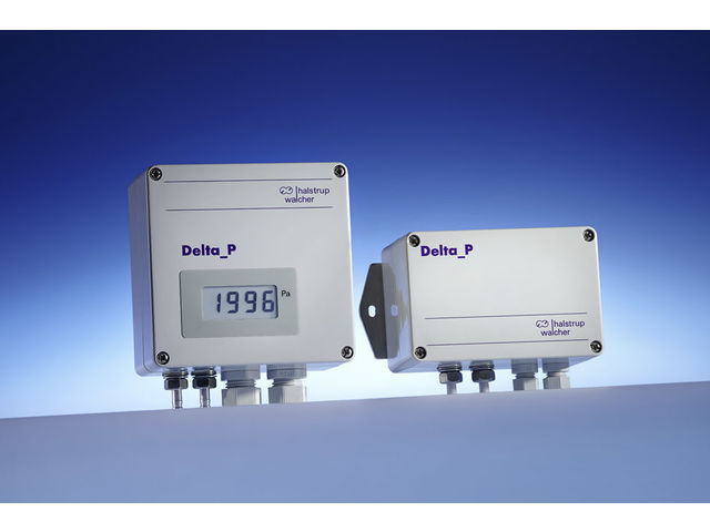 Differential pressure transmitter PU/PI/PIZ