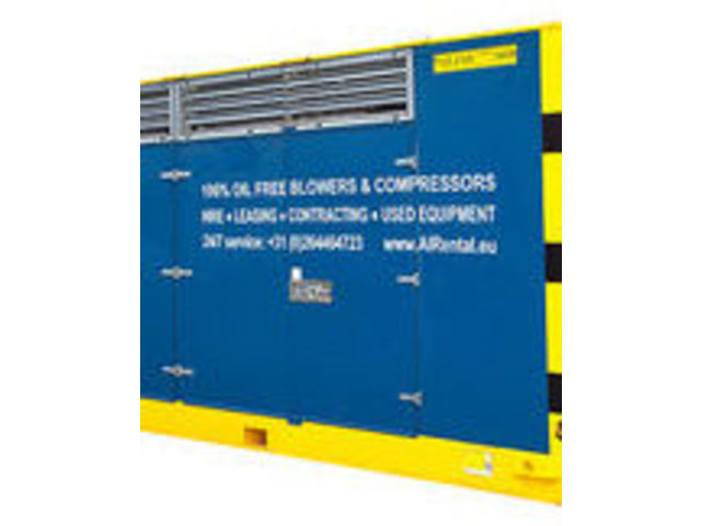 Double-stage compressor hire unit TVO - product presented by AERZEN FRANCE