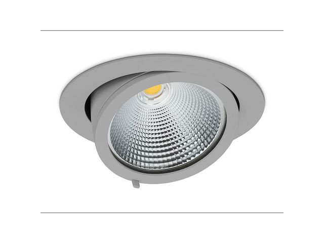 Downlight for installation in suspended ceilings | quna O - CORA LIGHTING FACTORY