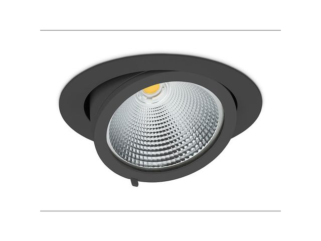 Downlight for installation in suspended ceilings | quna O