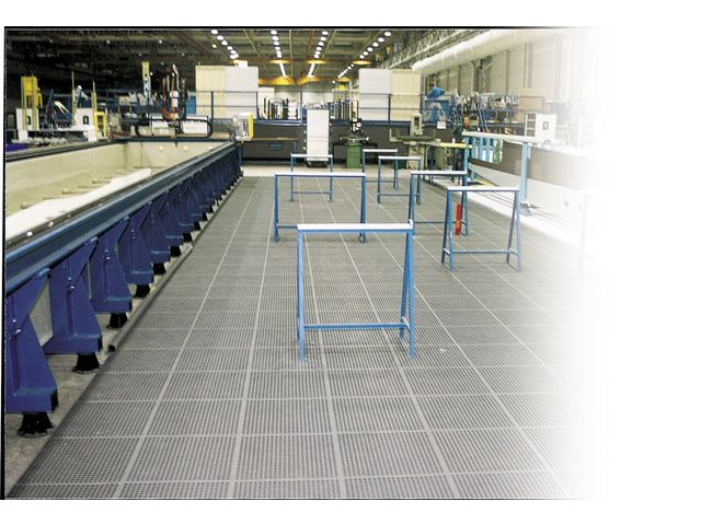 Duckboard tile for heavy duty applications : STANDLINE®