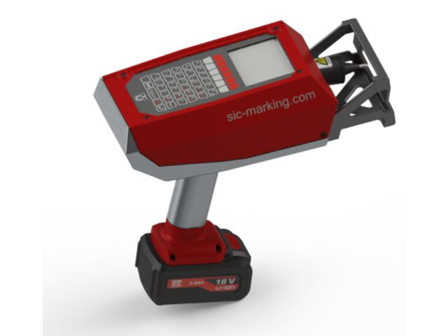 e-mark cordless marking - product presented by SIC MARKING