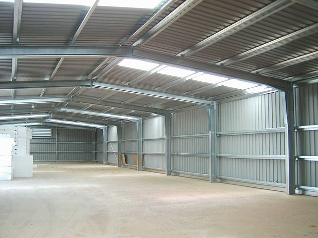 Economical industrial warehouse
