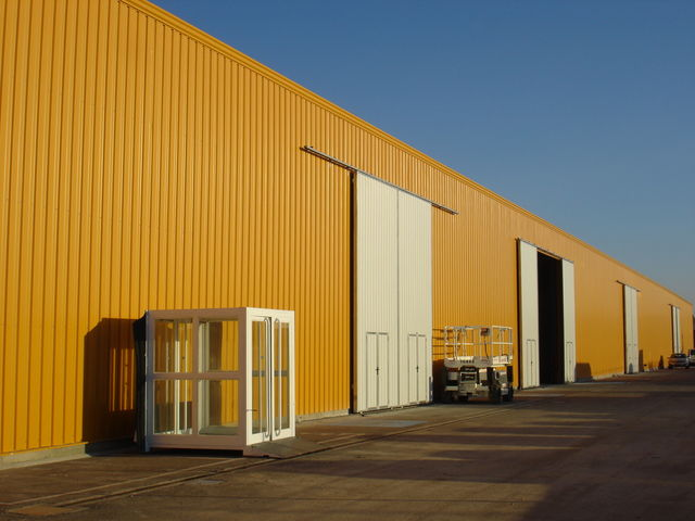 Economical industrial warehouse - Canopy