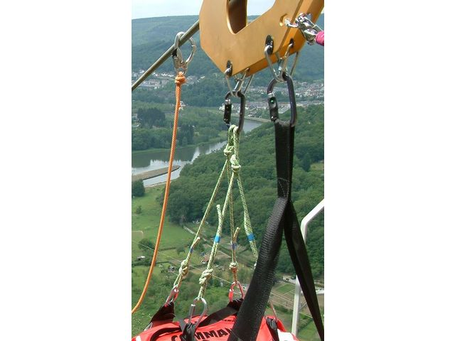 Equipment for Fantasticable Zip-lines - LE SUR MESURE INDUSTRIEL