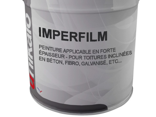 Flexible acrylic coating for roofing : IMPERFILM - Wall coating