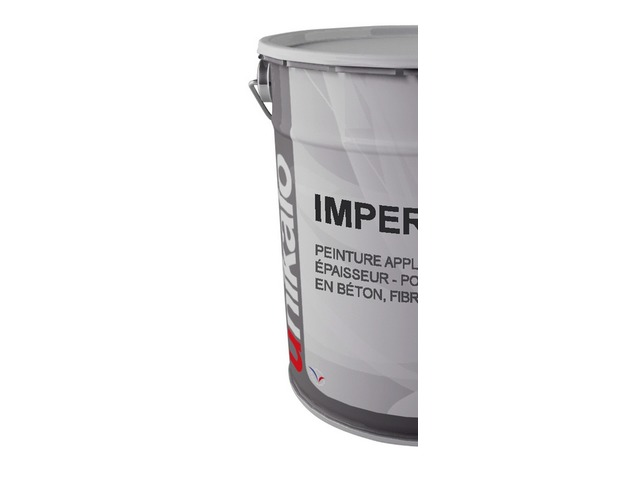 Flexible acrylic coating for roofing : IMPERFILM - product presented by UNIKALO SCSO (Fabricant de peintures bâtiment)