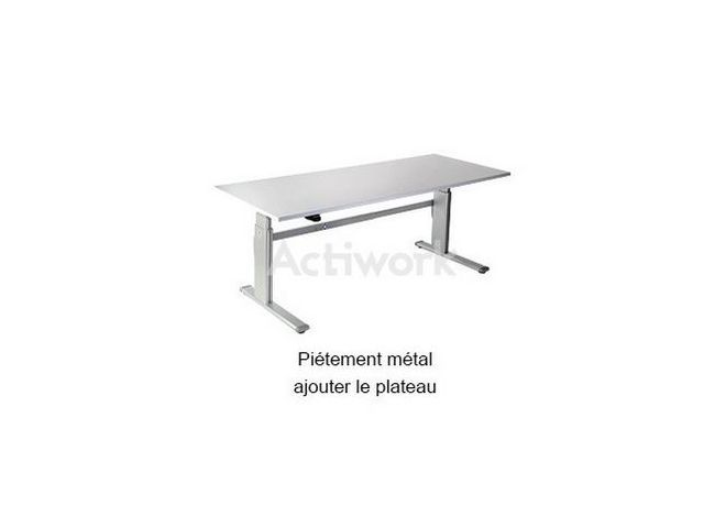 Height-adjustable workstation 80 kg StandSit - ACTIWORK