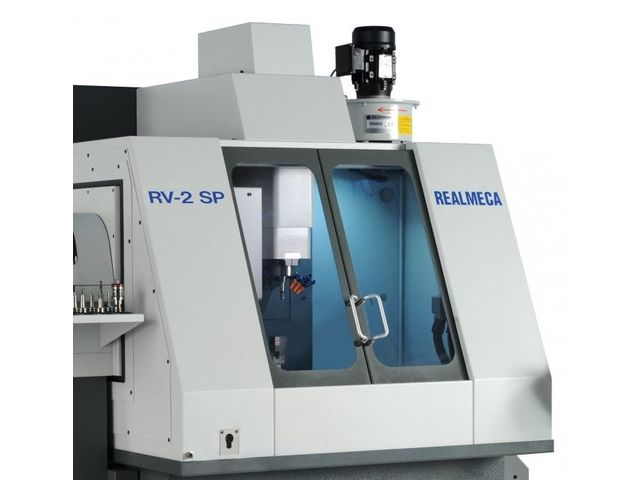 High-precision lathes and machining center - RV-2 SP - REALMECA