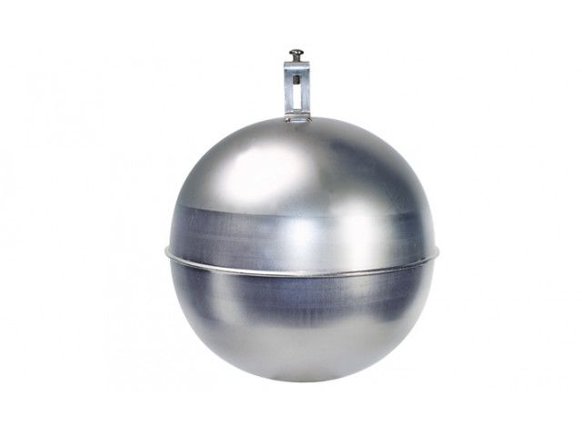 Hollow ball floaters VA- stainless stees with flange