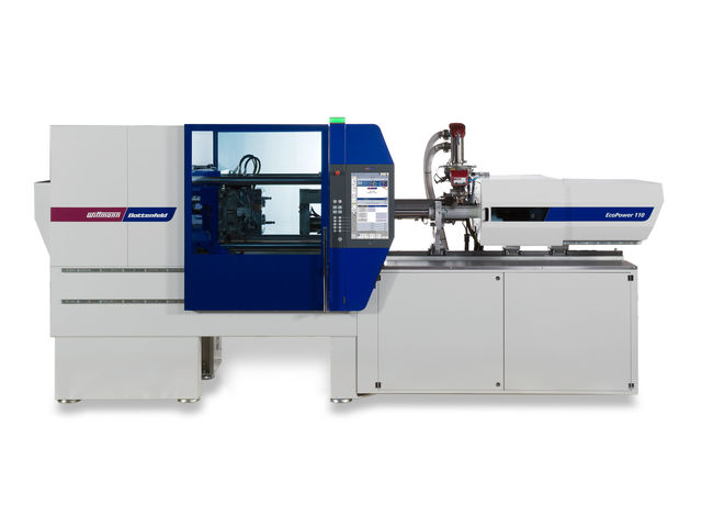 Horizontal injection molding machine / electric ECOPOWER 55 - 300t