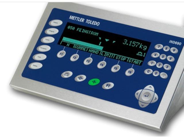 ind690 weighing terminals ind690 contact mettler toledo rh industry plaza com Mettler-Toledo Hawk Manual Mettler-Toledo PS60 Manual