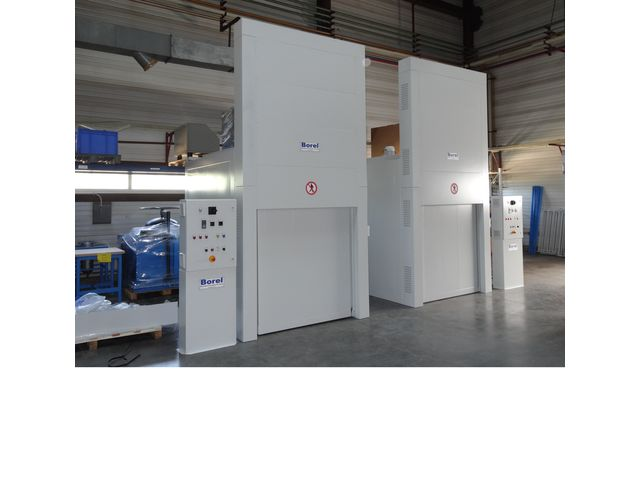 Industrial Ovens 150 °C: IA 150 - product presented by BOREL SWISS - FOURS INDUSTRIELS & ETUVES