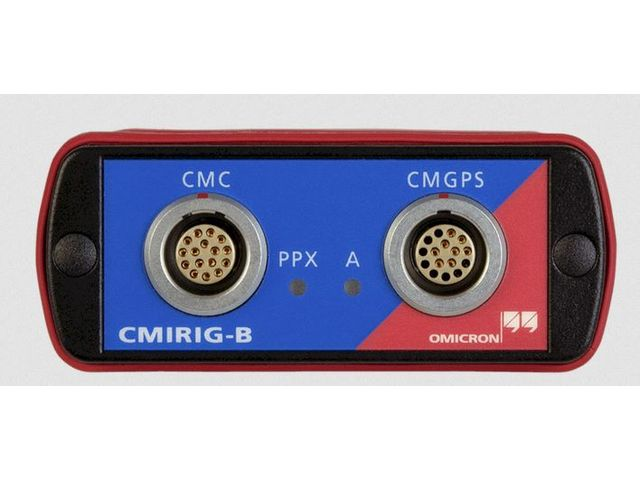 Interface box for sending or receiving the IRIG-B protocol or PPS signals | CMIRIG-B   - OMICRON ELECTRONICS FRANCE