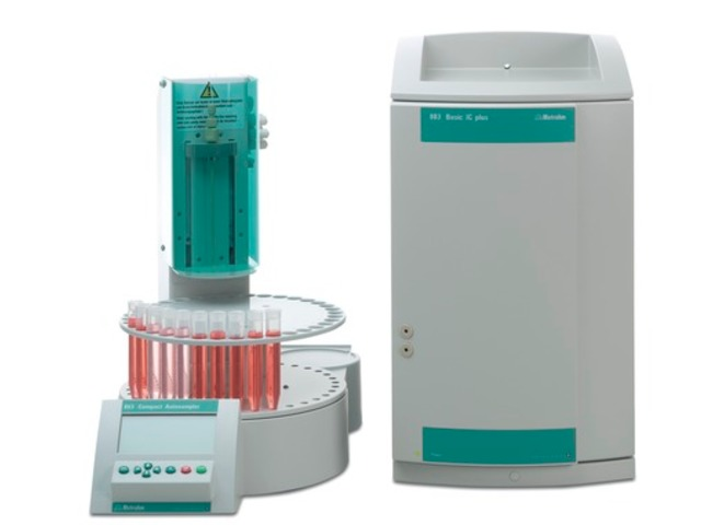 Ion chromatography system : 883 Basic IC plus Package