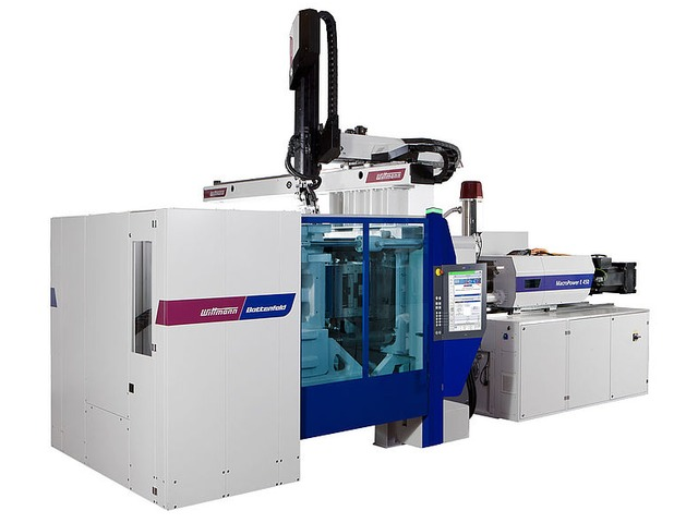 MacroPower E 400-1100t Horizontal injection molding machine / hydraulic / electric / for PET