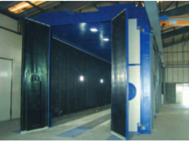 Manual sandblasting booths - Shot blasting machines