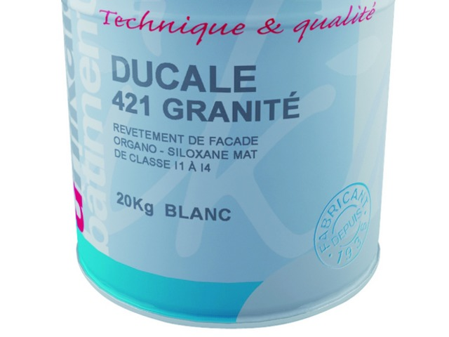 Mat granular finish for systems I1-I2-I3-I4 : DUCALE 421 GRANITE - Wall coating